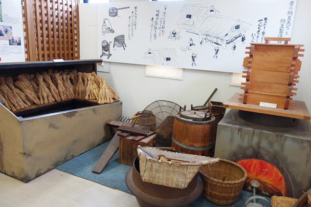納豆展示館 納豆製造道具