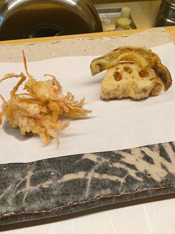 加賀れんこんの天ぷら
