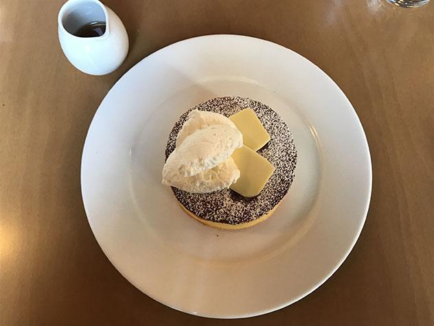喫茶室batonのホットケーキ