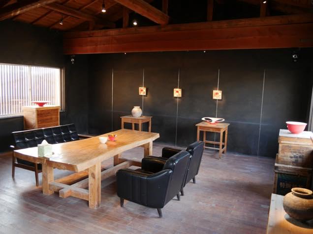 金沢・入江町にある工房「陶庵」
