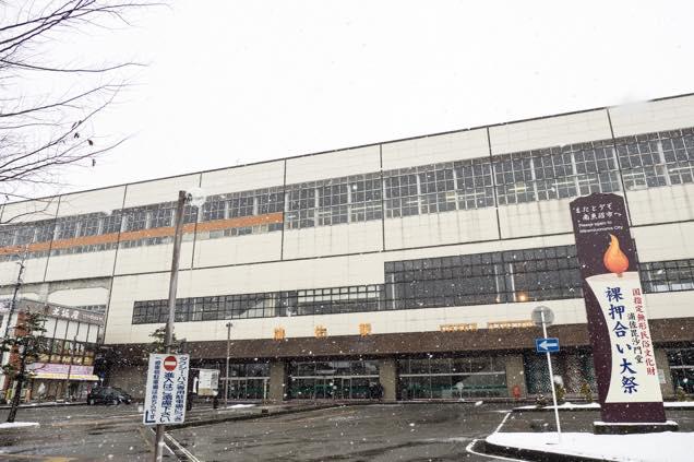JR浦佐駅の外観