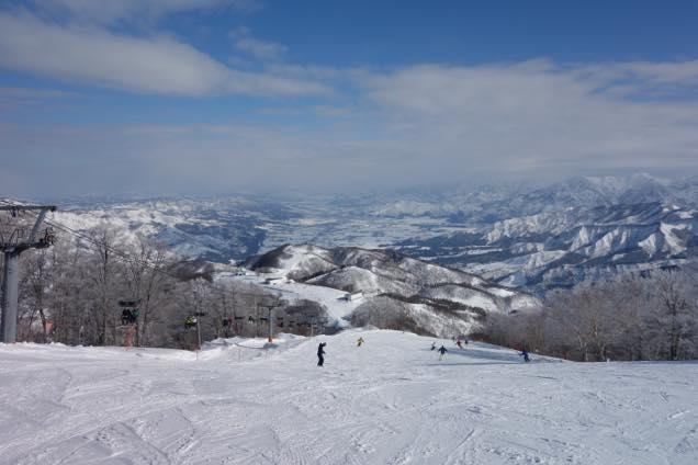 ガーラ湯沢の山頂