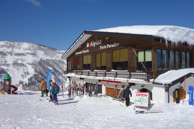 湯沢高原スキー場「アルピナ」