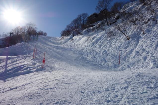 石打丸山スキー場「国体コース」