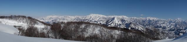 石打丸山スキー場山頂