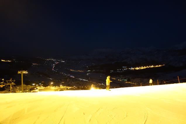 石打丸山スキー場ナイター