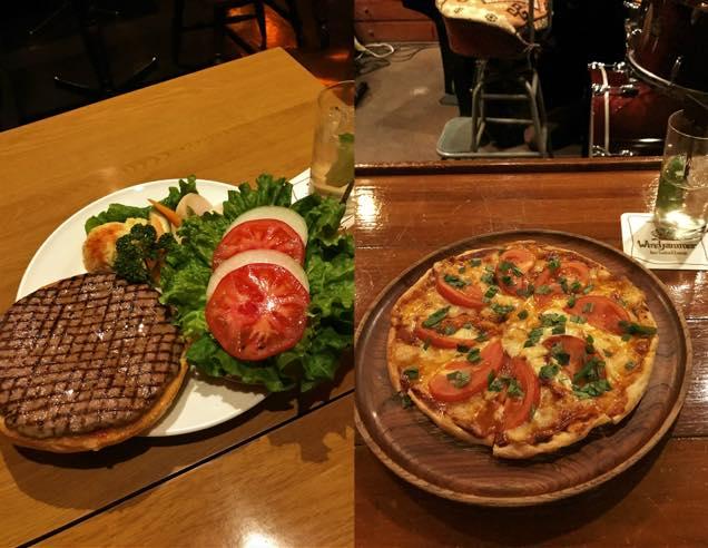 キャプテンズ・ハンバーガー、ホームメイド・ピザ