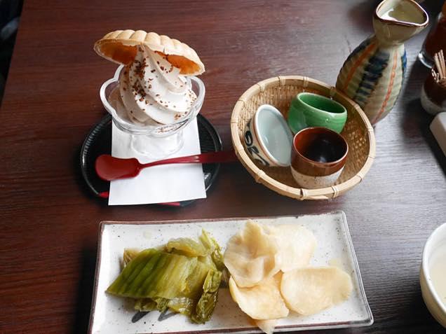 蕎麦ソフト