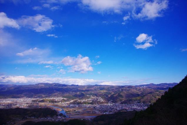 葛城山からの眺め