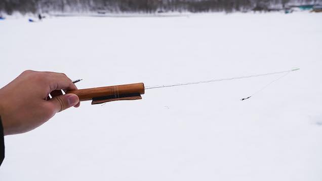 ワカサギ釣りの準備