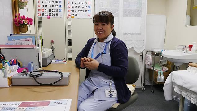 看護師の中嶋さん