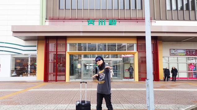 JR古川駅前
