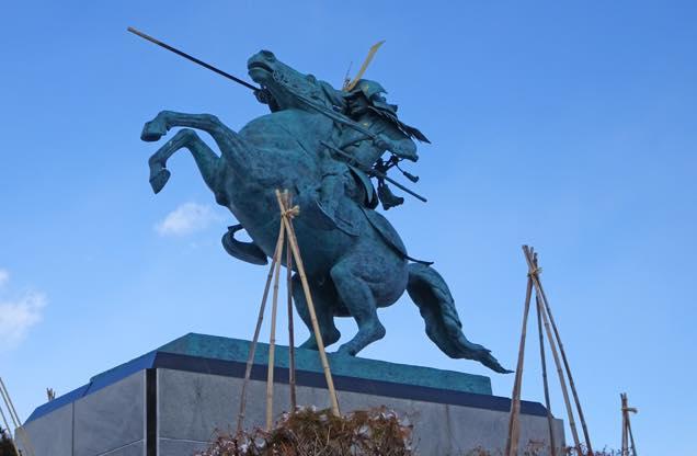 最上義光銅像
