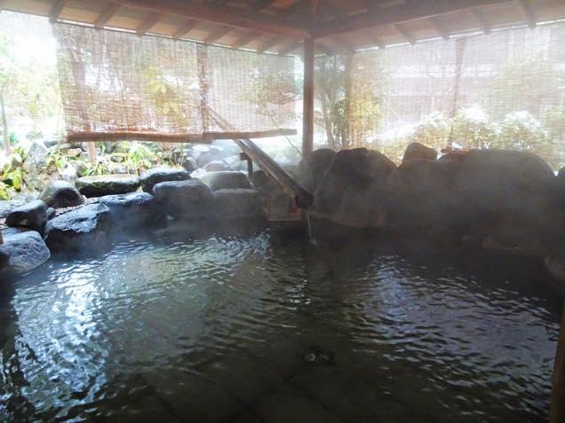 月岡ホテル露天風呂