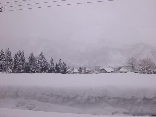 車窓からの景色