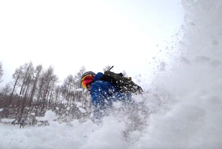 東北新幹線で安比高原スキー場へワープ アクションカムでの自撮りに挑戦!