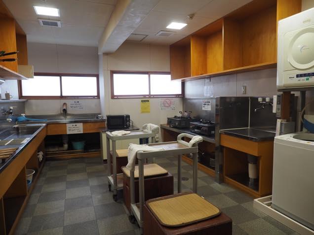 湯治棟調理室