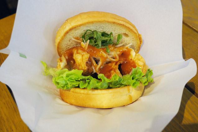 宇都宮野菜餃子バーガー