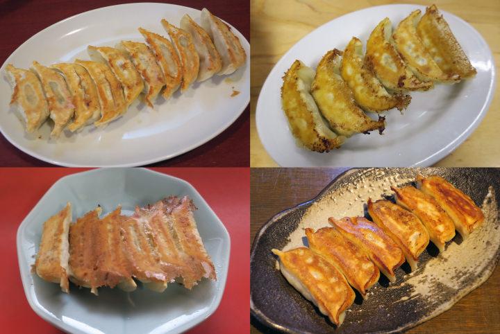 老舗店から餃子バーガー、いちご餃子まで!宇都宮で餃子を食べまくる