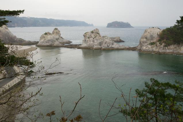 浄土ヶ浜 風景
