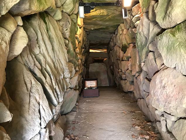 前二子古墳 石室