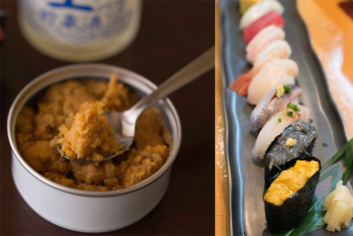 極楽・浄土ヶ浜で、旬の口開けウニ&激ウマの蒸しウニ缶を堪能