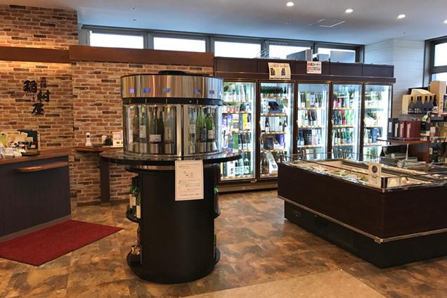NORTH SAKE&WINE 酒舗 稲村屋店内