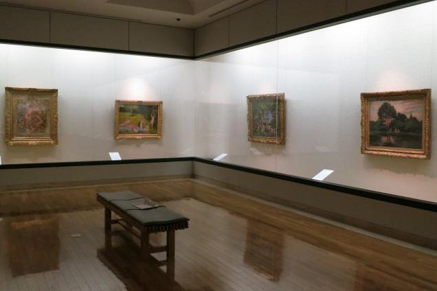 松岡美術館 展示室