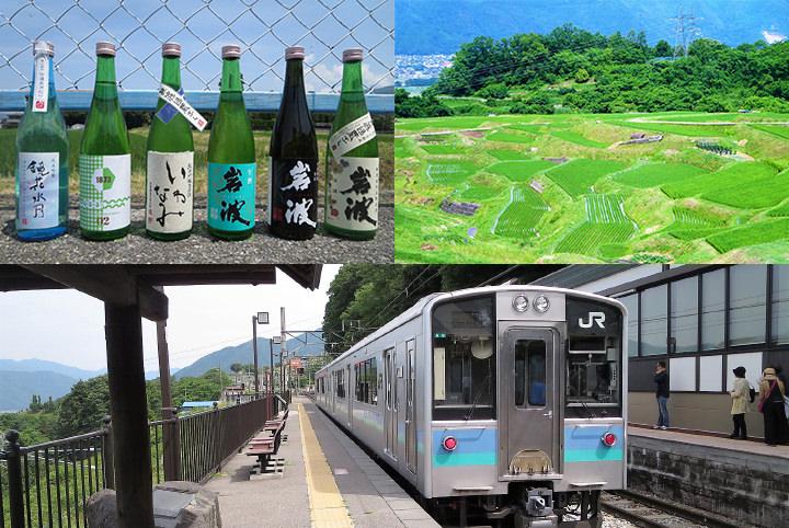 日本三大車窓の姨捨へ! 酔っぱライターの信州ローカル線酒呑み旅