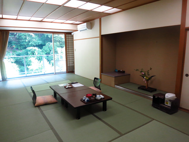 横谷温泉旅館の客室