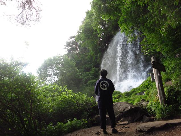 横谷峡の乙女滝