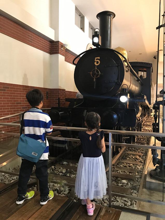 東武博物館 蒸気機関車