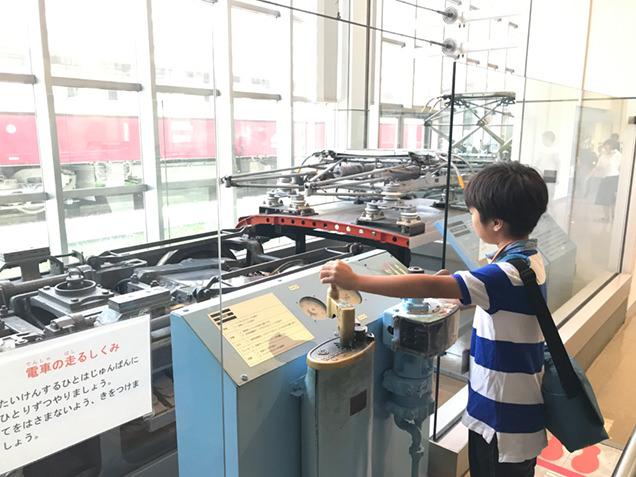 東武博物館 電車の仕組みを勉強できる