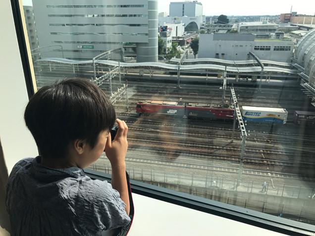 ホテルメトロポリタンさいたま新都心 客室からの眺め 昼
