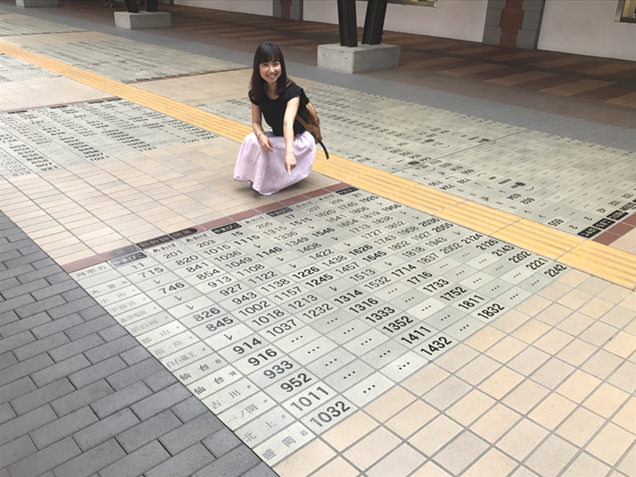 鉄道博物館(大成)駅 プロムナード