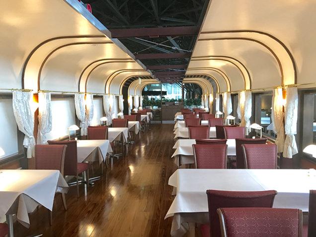 """""""鉄道博物館 トレインレストラン日本食堂"""