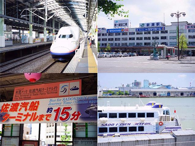 上越新幹線・ジェットフォイル