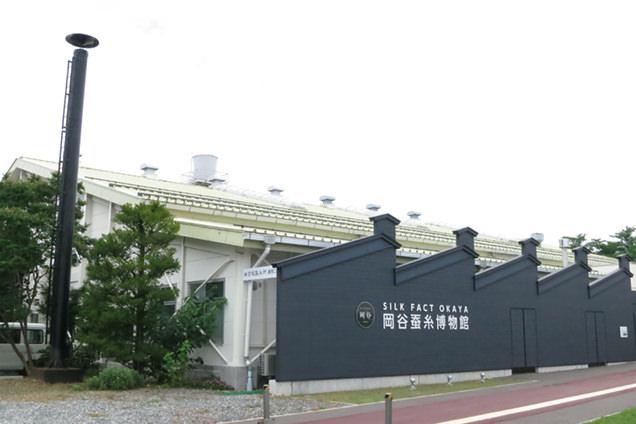 岡谷蚕糸博物館 外観