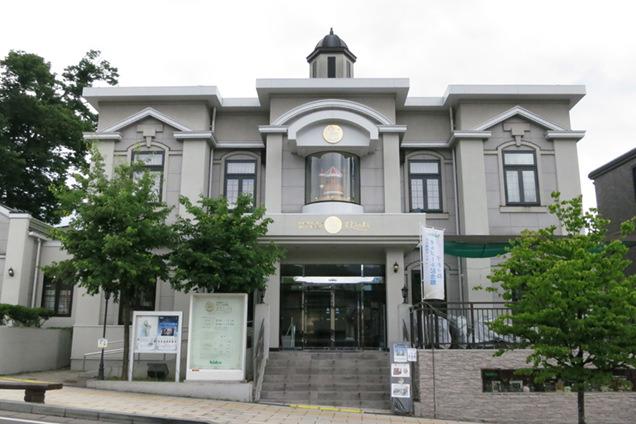 日本電産サンキョーオルゴール記念館 すわのね 外観