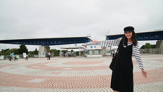 国営ひたち海浜公園 翼のゲート