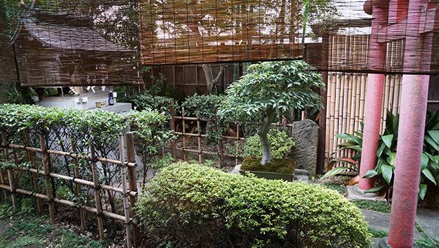 本むら庵 荻窪本店 中庭