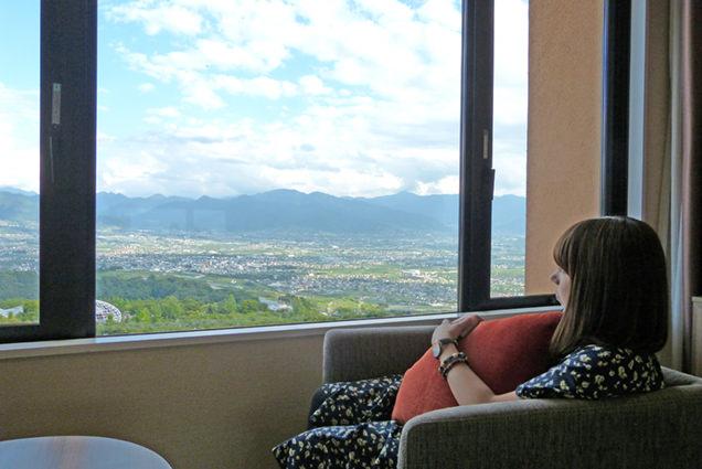 フルーツパーク富士屋ホテル 客室からの眺め