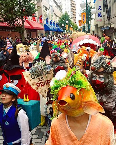 仮装パレードは国内最大級!? 川崎のハロウィン