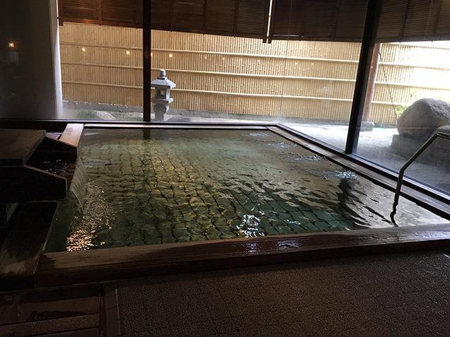 ホテル清風苑 庭園大浴場 姫の湯