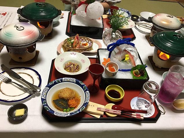 ホテル清風苑 夕食