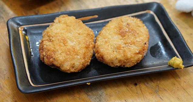 まつ惣 とりモモ肉のレモン〆串焼
