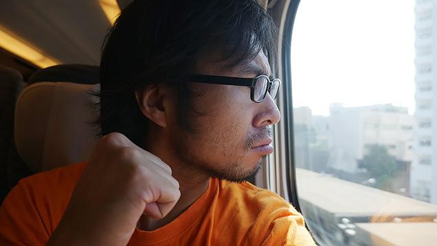 ということでJR東北新幹線に乗って……