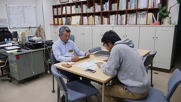 水稲品種開発部部長・前田春一さん