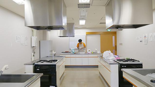 県民福祉プラザ 調理室