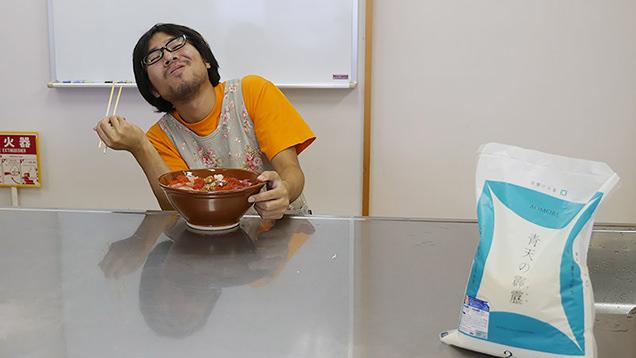 県民福祉プラザ 調理室 海鮮丼